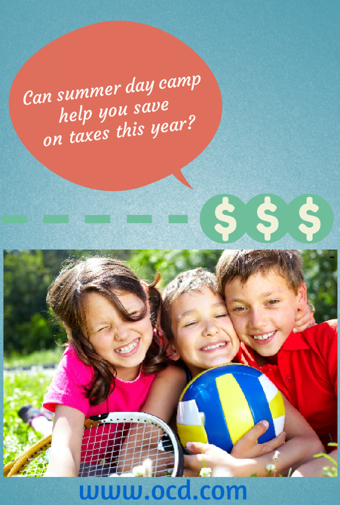 Can Day Camp Help Save on Taxes?